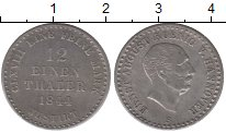 Изображение Монеты Ганновер 1/12 талера 1844 Серебро XF+