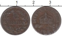 Изображение Монеты Немецкая Африка 1/2 геллера 1905 Бронза XF