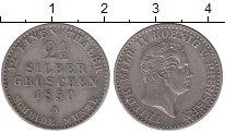 Изображение Монеты Пруссия 2 1/2 гроша 1850 Серебро XF