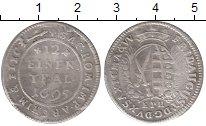 Изображение Монеты Саксония 1/12 талера 1695 Серебро VF