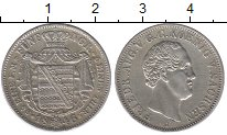 Изображение Монеты Саксония 1/6 талера 1846 Серебро XF+ Фридрих Август II