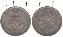 Изображение Монеты Саксония 1/6 талера 1865 Серебро UNC-