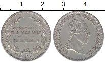 Изображение Монеты Саксония 1/6 талера 1827 Серебро XF