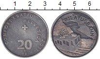 Изображение Монеты Швейцария 20 франков 2011 Серебро XF