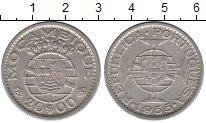 Изображение Монеты Мозамбик 20 эскудо 1955 Серебро XF