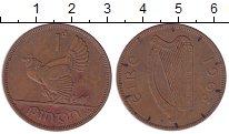 Изображение Монеты Ирландия 1 пенни 1963 Бронза XF