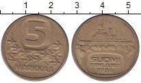 Изображение Монеты Финляндия 5 марок 1986 Медно-никель XF