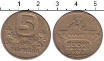 Изображение Монеты Финляндия 5 марок 1989 Латунь XF