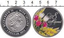 Изображение Монеты Ниуэ 1 доллар 2012 Серебро Proof Цифровая  печать.  Е