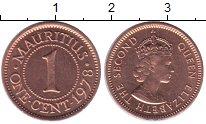 Изображение Монеты Маврикий 1 цент 1978 Медь UNC-