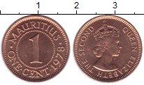 Изображение Монеты Маврикий 1 цент 1978 Бронза UNC-