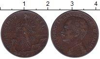 Изображение Монеты Италия 2 сентесимо 1911 Бронза XF