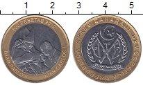 Изображение Монеты Сахара 500 песет 2010 Биметалл UNC- Понтифик  Иоанн  Пав