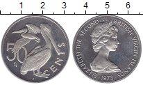 Изображение Монеты Виргинские острова 50 центов 1973 Медно-никель Proof-