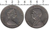 Изображение Монеты Остров Святой Елены 50 пенсов 1984 Медно-никель UNC- Елизавета II.  Корол