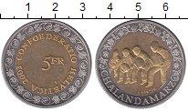 Изображение Монеты Швейцария 5 франков 2003 Биметалл UNC- Проводы  зимы