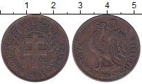 Изображение Монеты Камерун 1 франк 1943 Бронза XF-