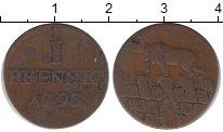 Изображение Монеты Германия Анхальт-Бернбург 1 пфенниг 1793 Медь VF