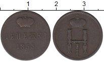 Изображение Монеты 1825 – 1855 Николай I 1 денежка 1855 Медь VF ЕМ