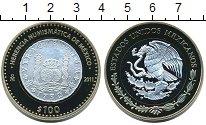 Изображение Монеты Мексика 100 песо 2012 Серебро Proof