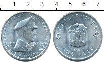 Изображение Монеты Филиппины 1 песо 1947 Серебро XF