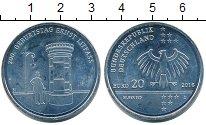 Изображение Монеты Германия ФРГ 20 евро 2016 Серебро UNC