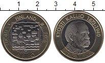 Изображение Мелочь Финляндия 5 евро 2016 Биметалл UNC Кюсти  Каллио