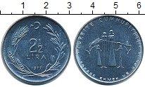 Изображение Монеты Турция 2 1/2 лиры 1977 Сталь UNC-