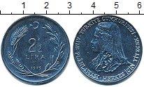 Изображение Монеты Турция 2 1/2 лира 1979 Сталь UNC-
