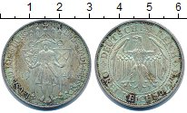 Изображение Монеты Веймарская республика 3 марки 1929 Серебро XF+