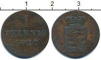 Изображение Монеты Саксония 1 пфенниг 1837 Медь VF