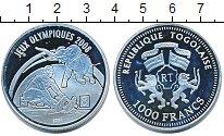 Изображение Монеты Того 1000 франков 2007 Серебро Proof