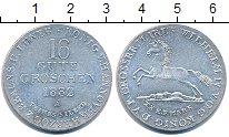 Изображение Монеты Германия Ганновер 16 грош 1832 Серебро XF+