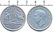 Изображение Монеты Австралия 1 флорин 1944 Серебро XF