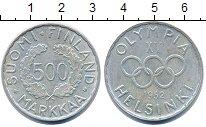Изображение Монеты Финляндия 500 марок 1952 Серебро XF Олимпиада 52. Хельси