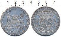 Изображение Монеты Мексика 8 реалов 1768 Серебро XF