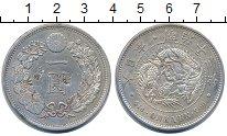 Изображение Монеты Япония 1 йена 1880 Серебро XF+