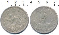 Изображение Монеты Иран 5000 динар 1921 Серебро XF-