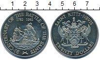 Изображение Монеты Сент Киттс-Невис 20 долларов 1982 Медно-никель UNC