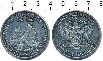 Изображение Монеты Сент Киттс-Невис 20 долларов 1982 Медно-никель UNC 200 - летие  битвы