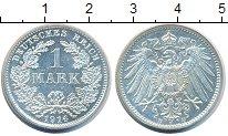 Изображение Монеты Германия 1 марка 1914 Серебро Proof-