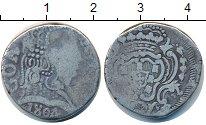 Изображение Монеты Португальская Индия 1 рупия 1804 Серебро VF