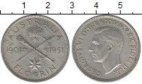 Изображение Монеты Австралия 1 флорин 1951 Серебро UNC 50 - летие  Георга V