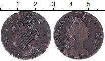 Изображение Монеты Ирландия 1/2 пенни 1781 Медь VF