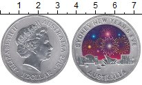 Изображение Монеты Австралия 1 доллар 2015 Серебро Proof-
