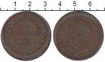 Изображение Монеты Монако 1 десим 1838 Медь XF