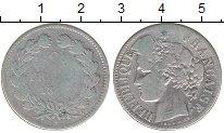 Изображение Монеты Франция 2 франка 1874 Серебро XF- А