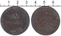 Изображение Монеты Австралия 1 пенни 0 Медь XF