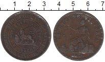 Изображение Монеты Австралия 1 пенни 1858 Медь XF