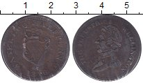 Изображение Монеты Ирландия 1/2 пенни 1816 Медь XF